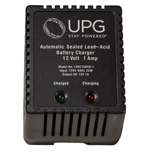 12V, 1AH Dual Stage Battery Charger