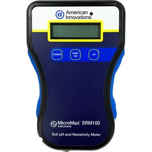 MicroMax® SRM 100, Soil pH & Resistivity Meter Only