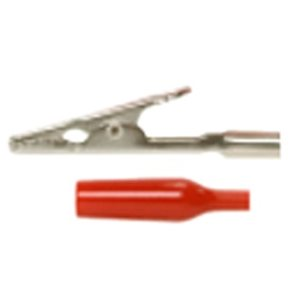 5 amp Alligator Clip with Insulator - RED