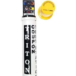 CP Test Station, Triton w / 100 Foot Cables - Yellow